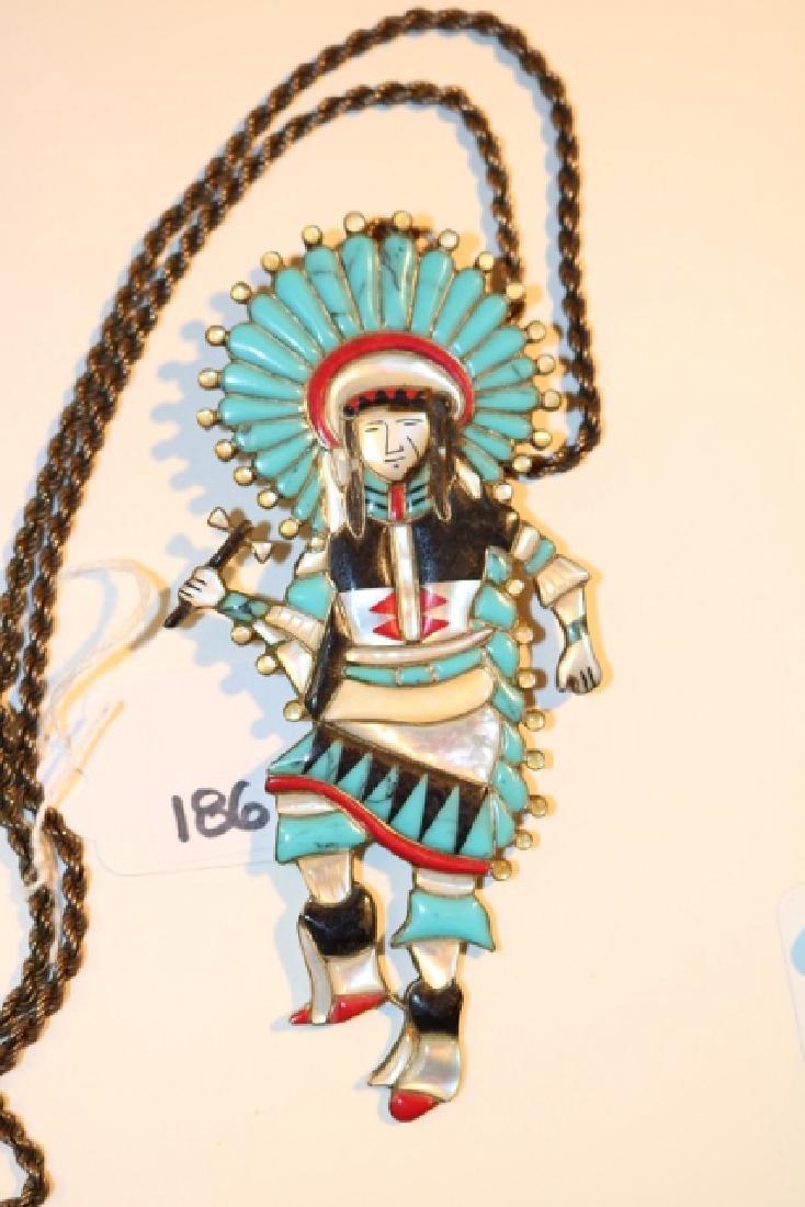 Zuni Inlay Dancer
