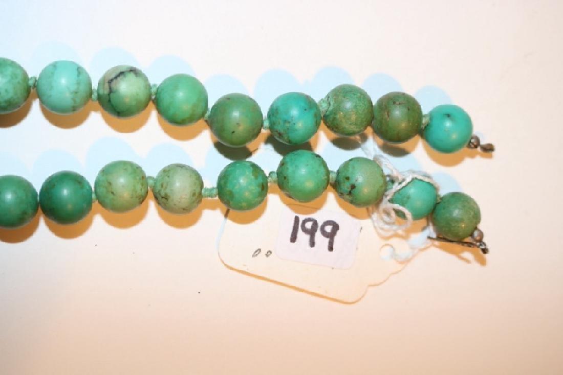 Strand Turq. Round Bead Necklace - 2