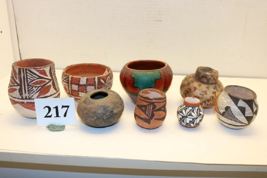 8 Assorted Pottery Bowls