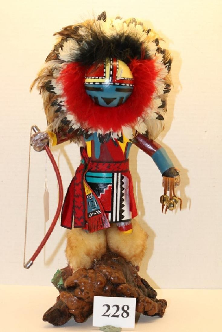 Katsina Doll with bow & bellsNO SHIPPING OUT OF COUNTRY