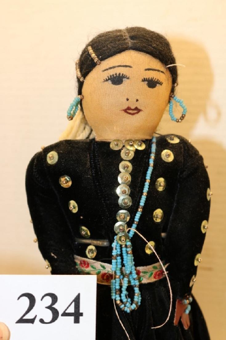 Navajo Woman Doll - 2
