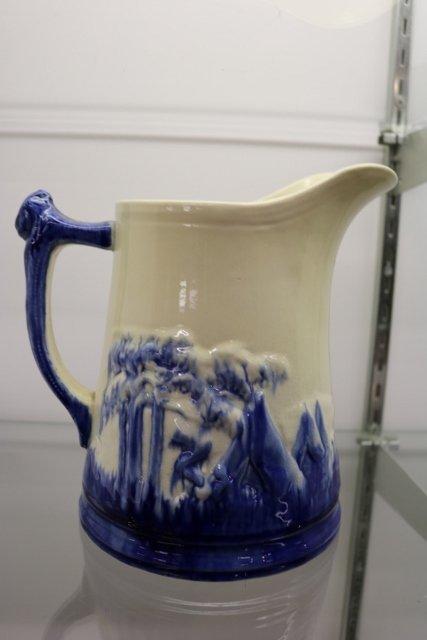 Large Sleepy Eye Pottery Pitcher - 3