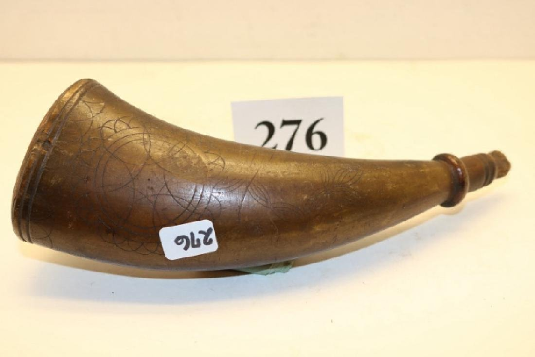 Older Powder Horn NO SHIPPING OUT OF COUNTRY