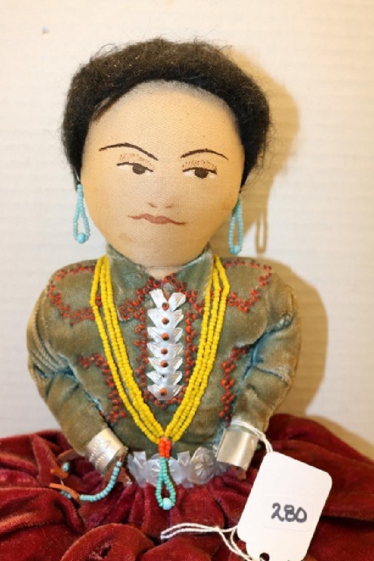 Navajo Female Doll - 2