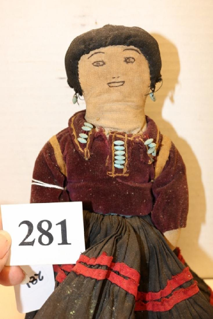 Navajo Female Doll - 2