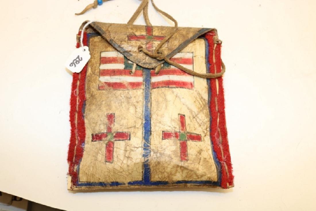 Patriotic Parfleche Bag