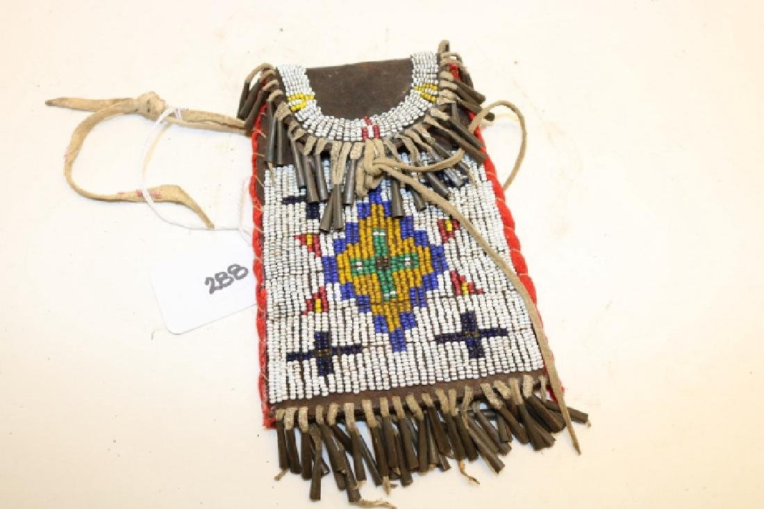 Beaded Strike-a-lite Bag