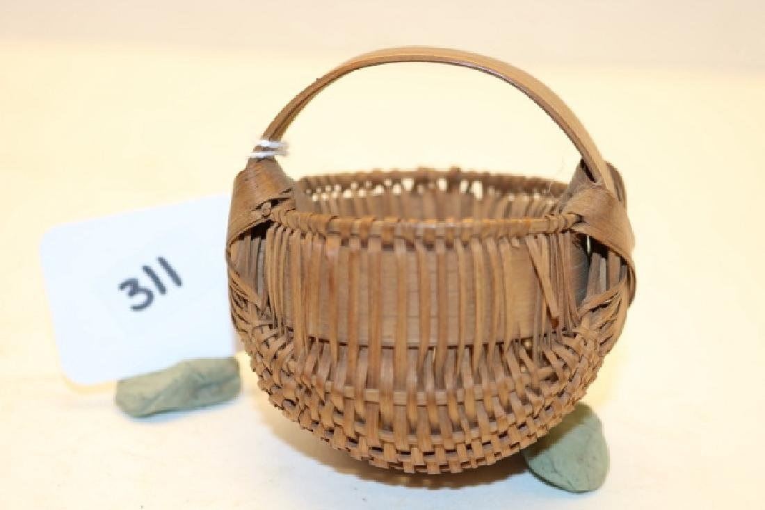 Rare Miniature Buttox Basket