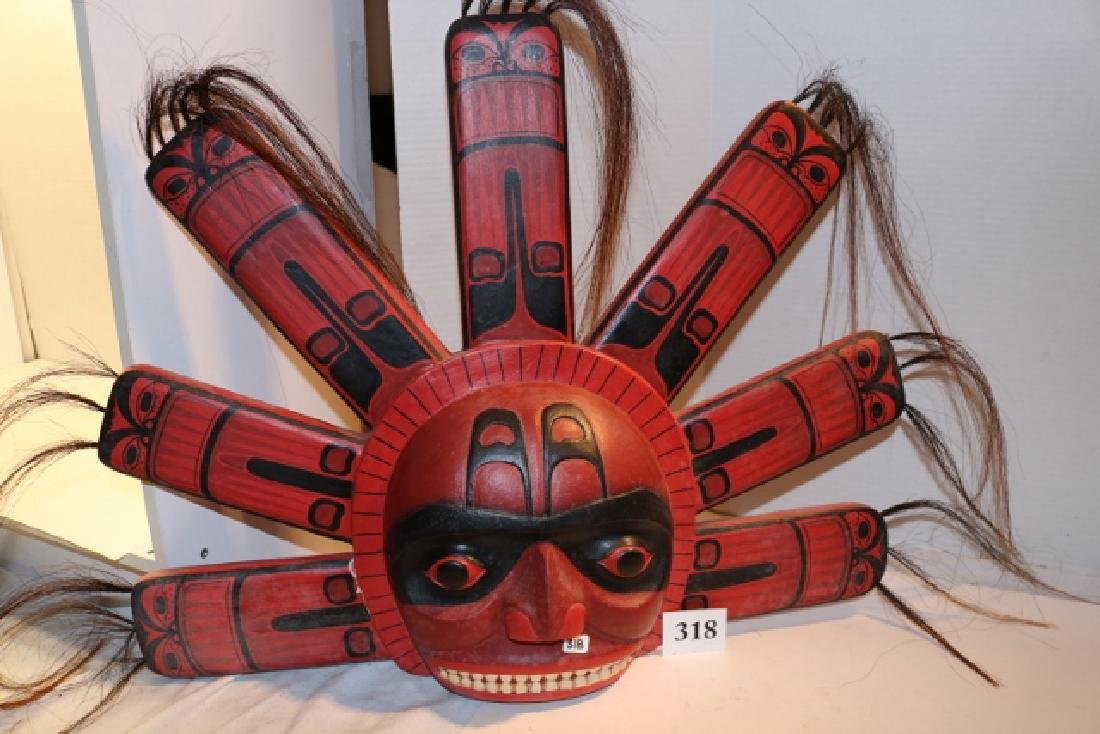 Indonesia Reproduction Mask, wall hanger