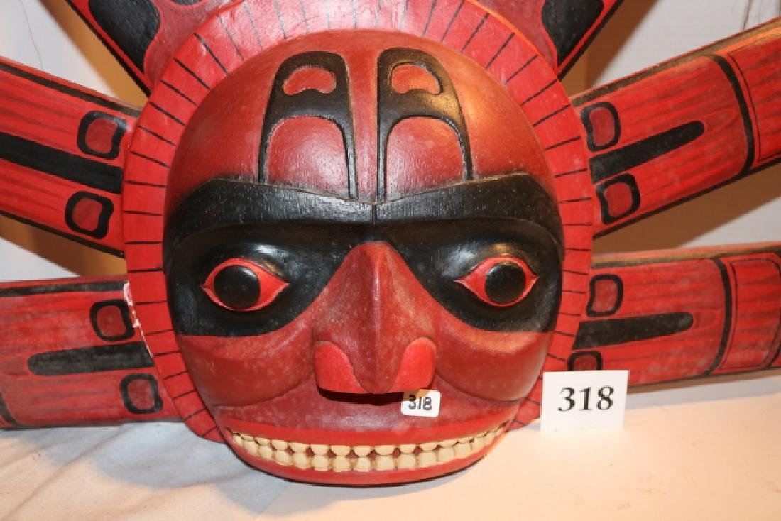 Indonesia Reproduction Mask, wall hanger - 2