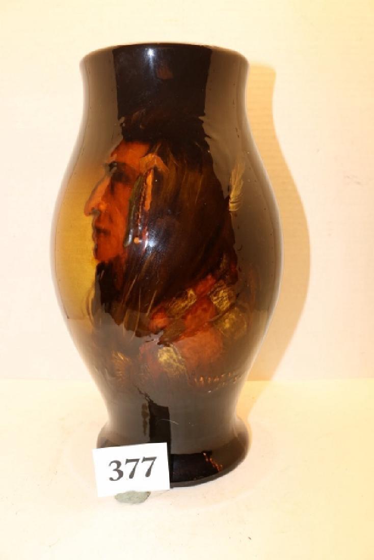 Art Pottery Portrait Vase