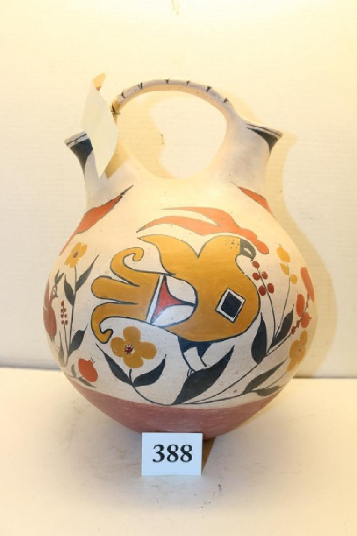 Polychrome Acoma Wedding Vase - 2