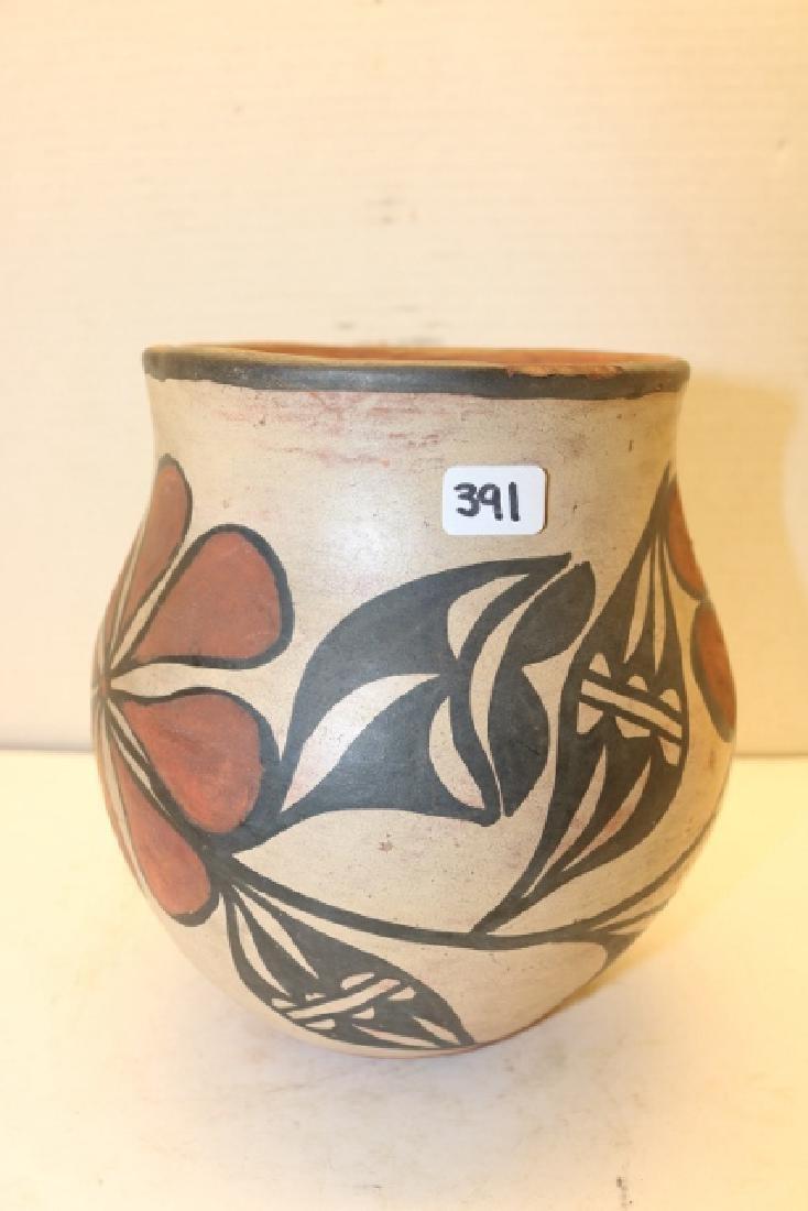 Polychrome Santa Domingo Pottery Jar