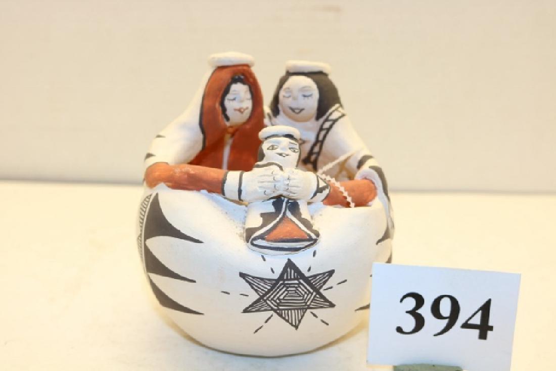 Story Teller Nativity Pot