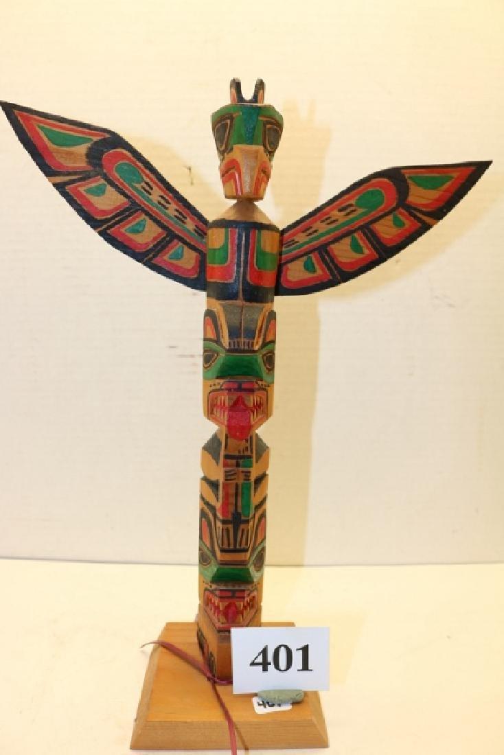 Polychrome Totem Pole
