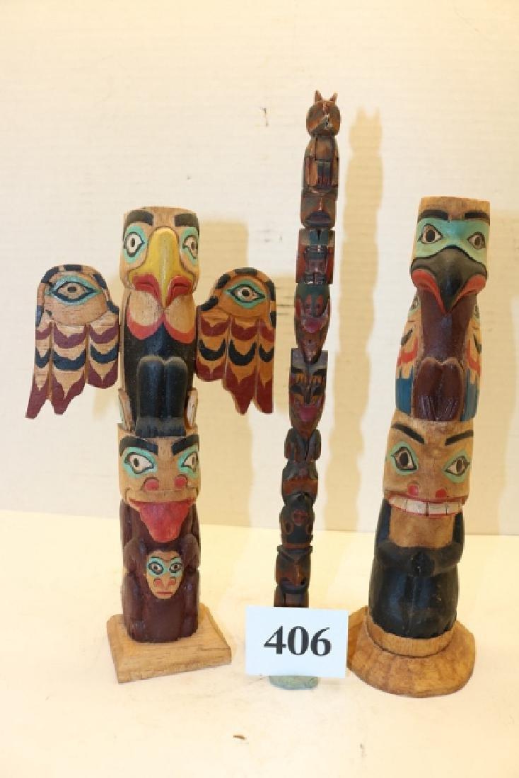 3 Totem Poles
