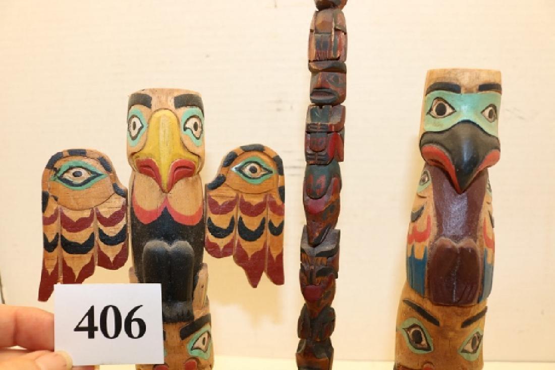 3 Totem Poles - 2