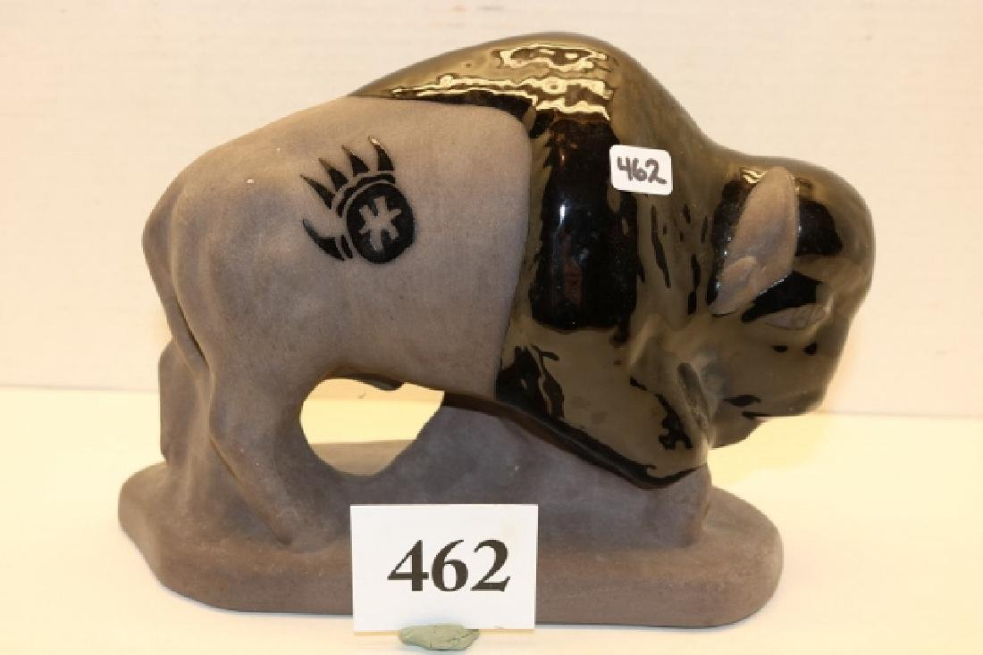 Black Pottery Buffalo