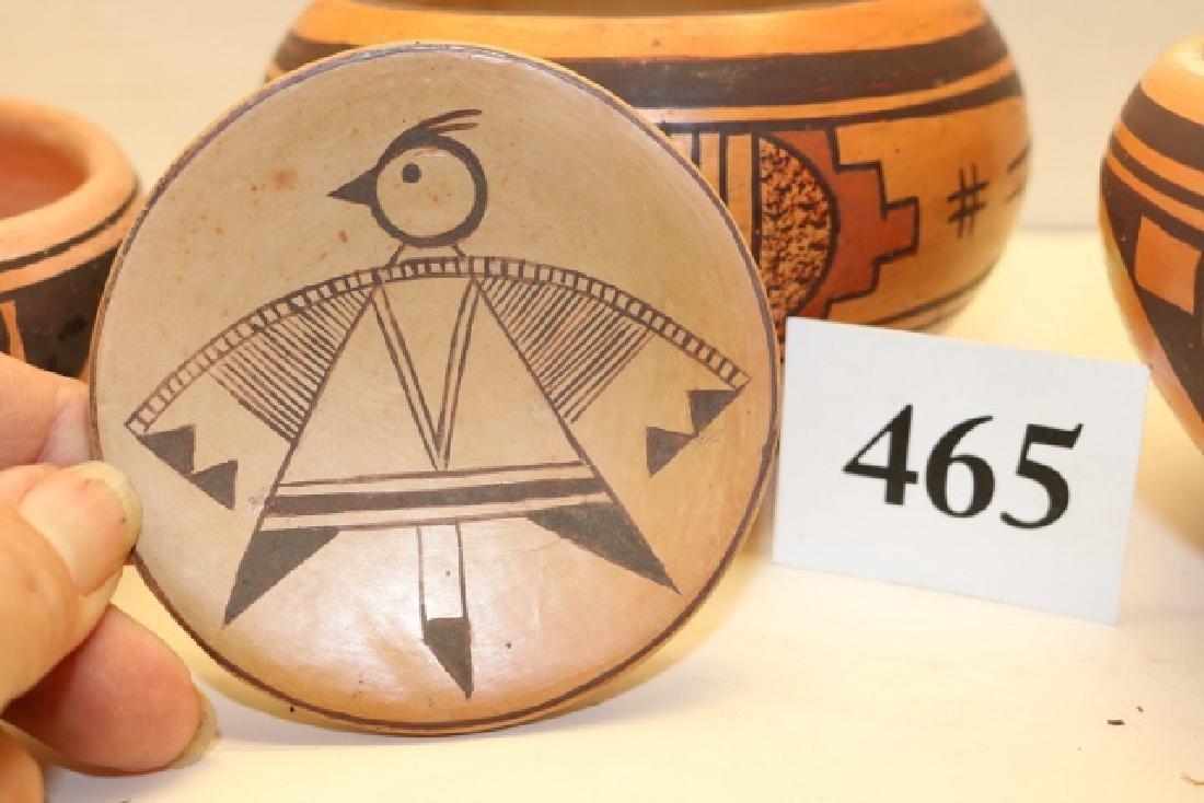 4 Pcs. Hopi Pottery - 2