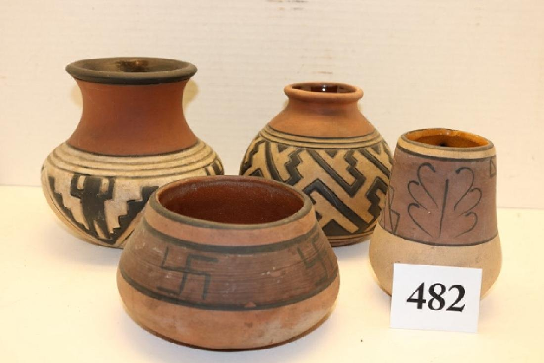 4 Pcs. Pottery Bowls – Jars