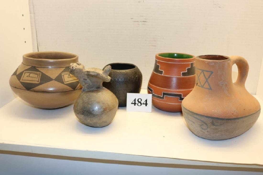 5 Pcs. Assorted Pottery Items