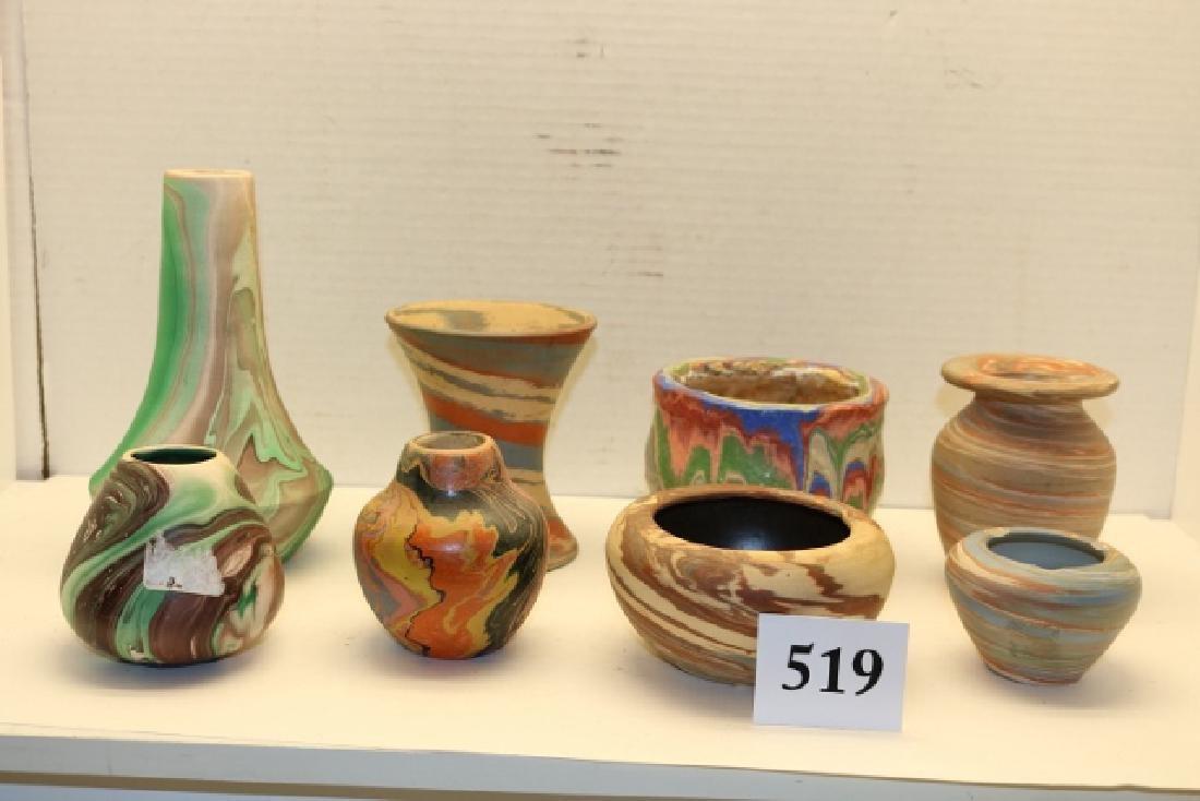 8 pcs. Pottery