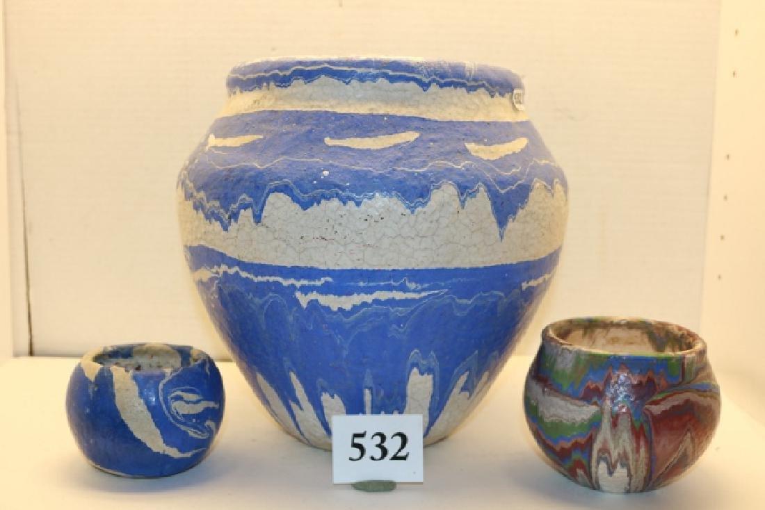 3 Pcs. Pottery