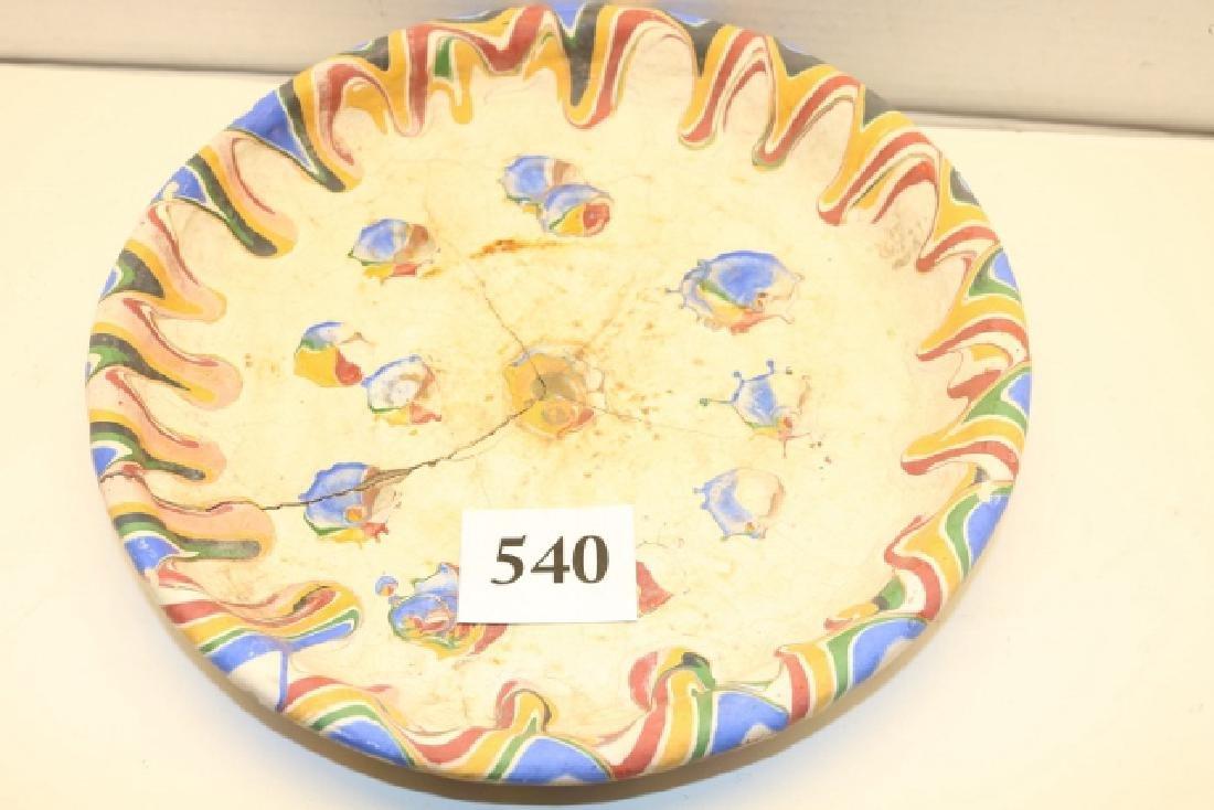 """9 1/2"""" Jardinière with tray - 3"""
