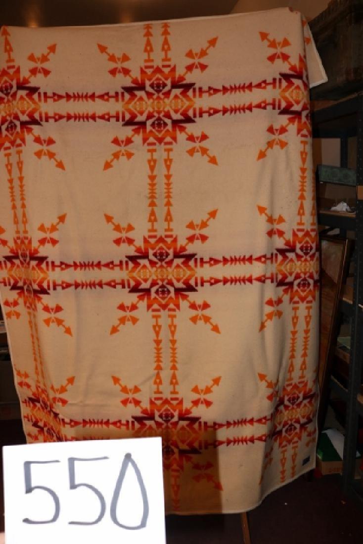 Wool Indian Blanket, Pendleton Blanket - 2