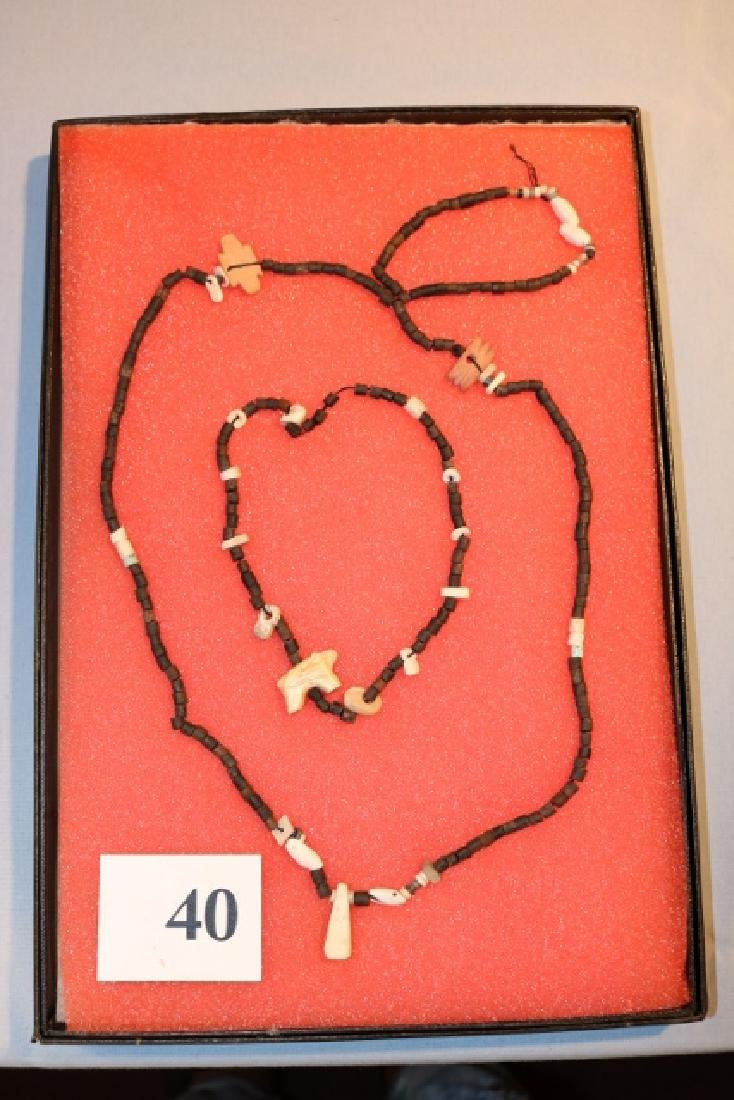 Frame with 3 strands beads