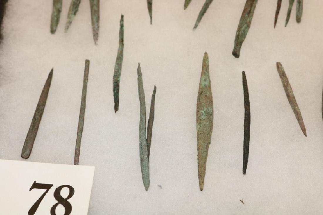 37 Copper Needles - 2