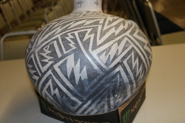 Black & White Anasazi Olla - 7