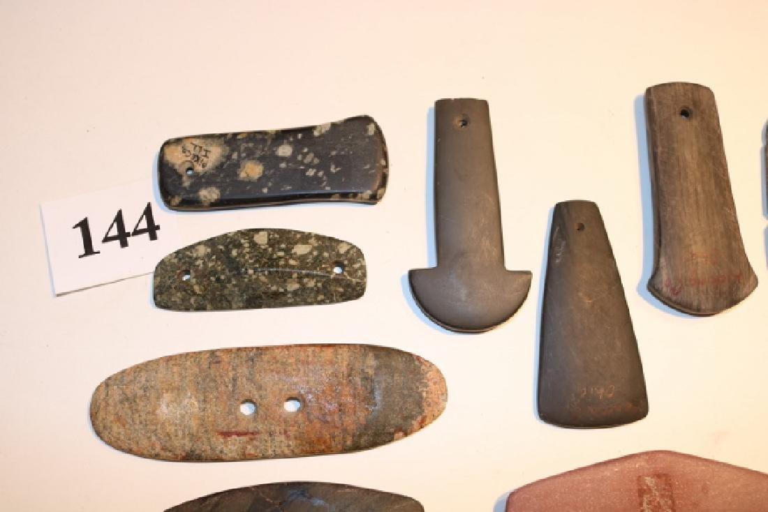 10 Assorted Stone Pendants – Gorgets - 2
