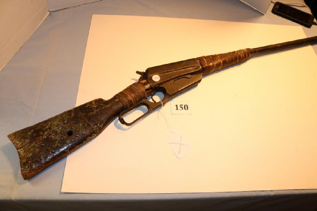 1895 Winchester Indian Modified Rifle