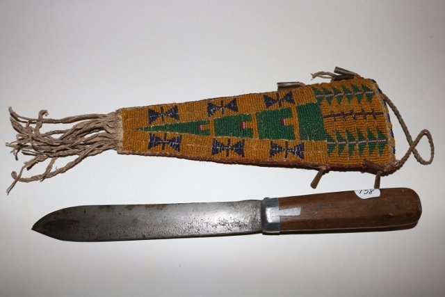Cheyenne Beaded Sheath - 3