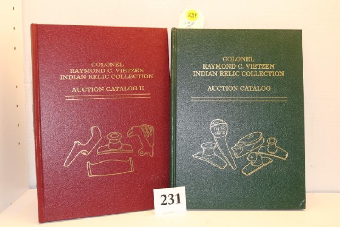 (2) Colonel Raymond Vietzen Auction Catalogs