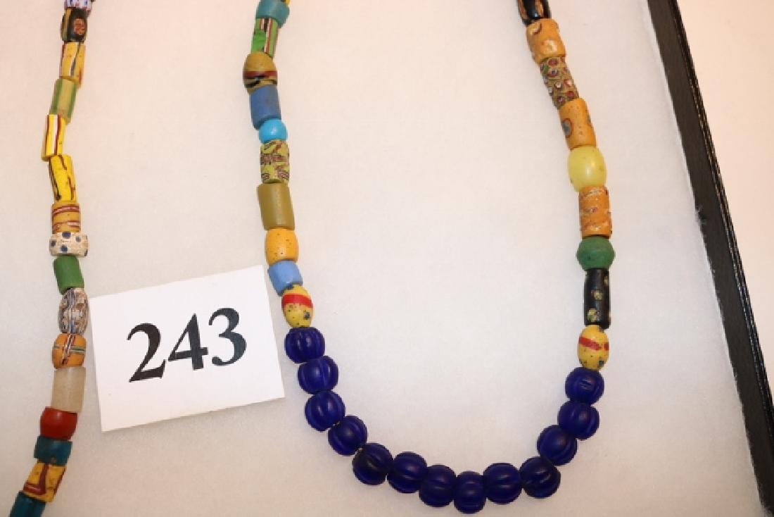 Strand of Mixed Variety Colorful Trade Beads - 2