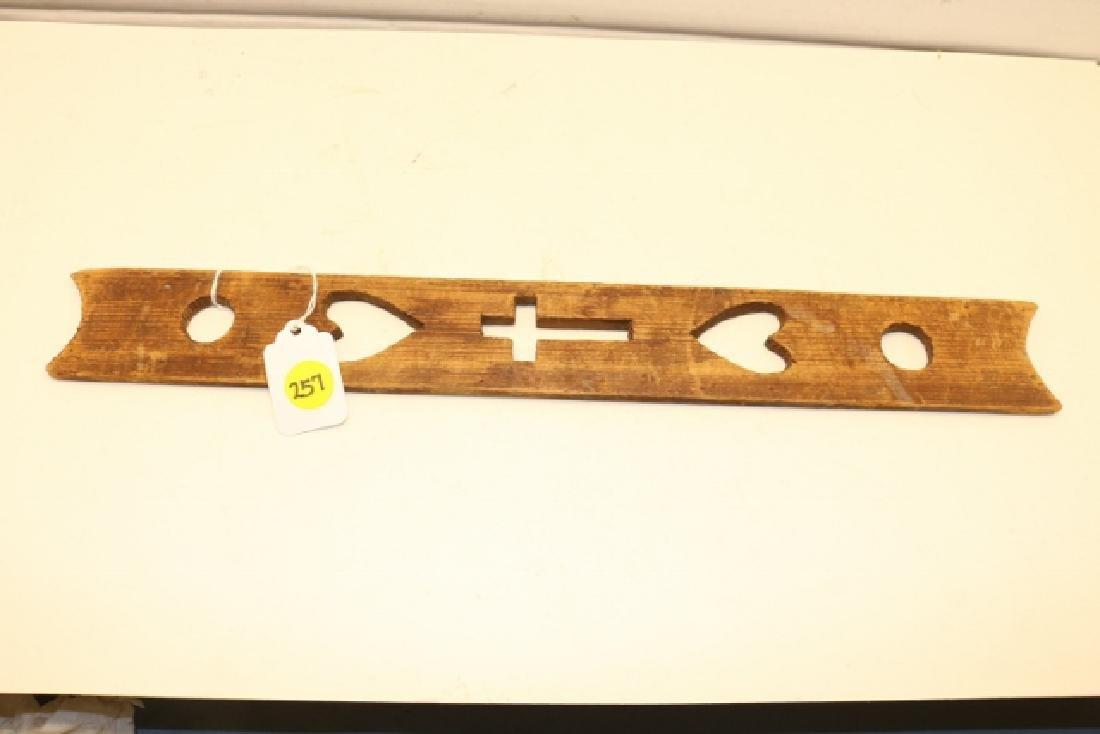 Cut Out Wood Prayer Stick