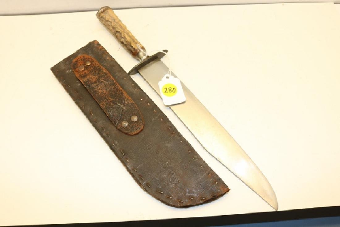 Stag Handle Bowie Knife - 2