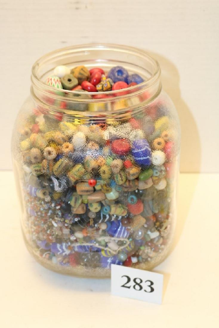 Various Types and Styles of Trade Beads