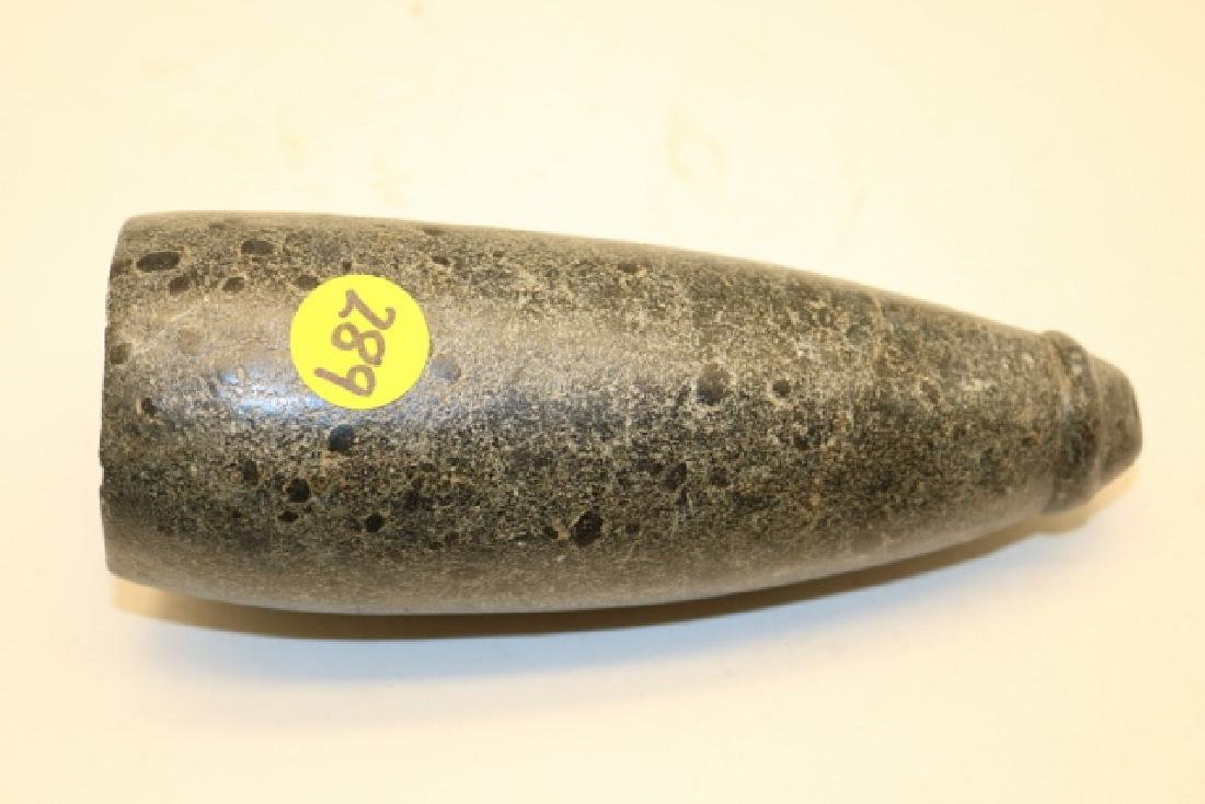 Historic Conical Stone Pipe
