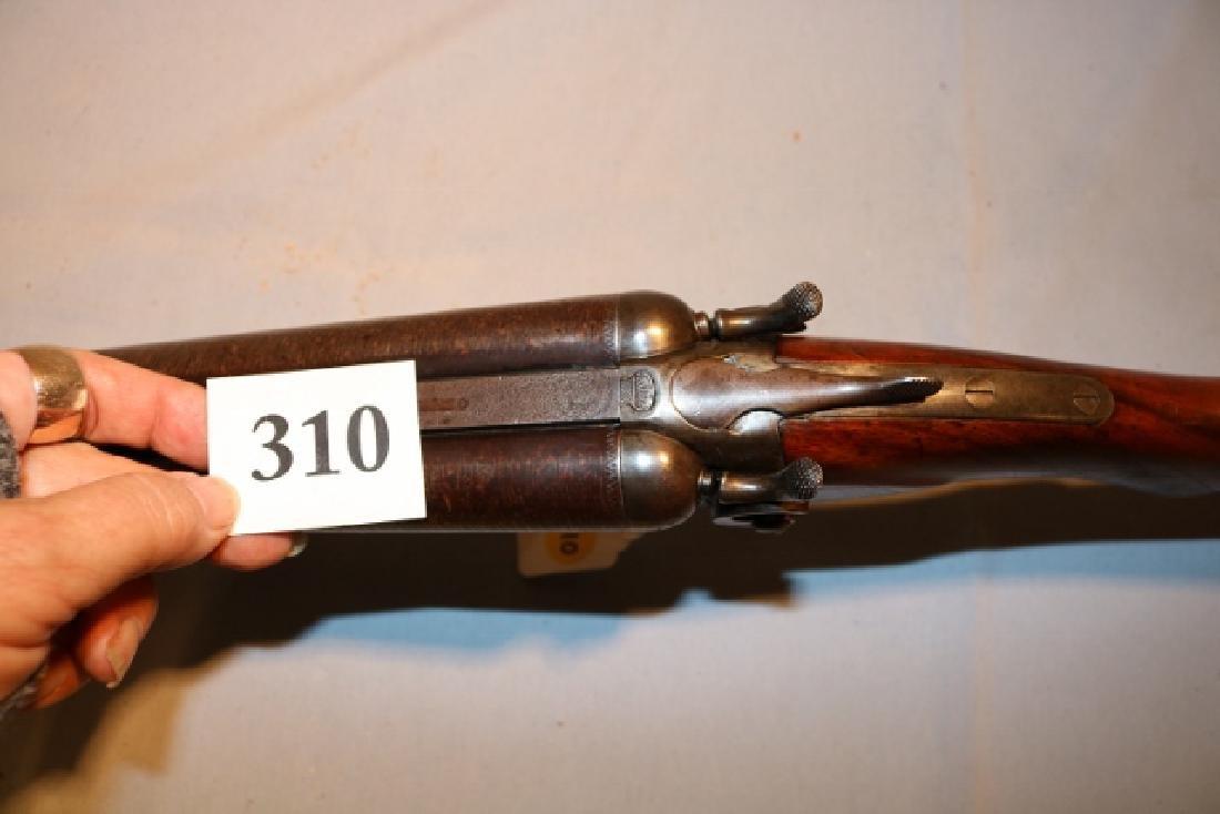Double Barrel Buffalo Bill Wild West Show Shotgun - 5