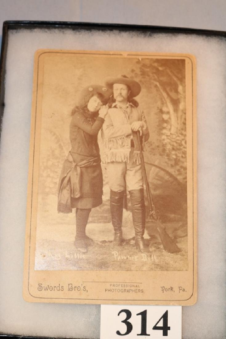 Studio Photo of Mae Lillie and Pawnee Bill Performers