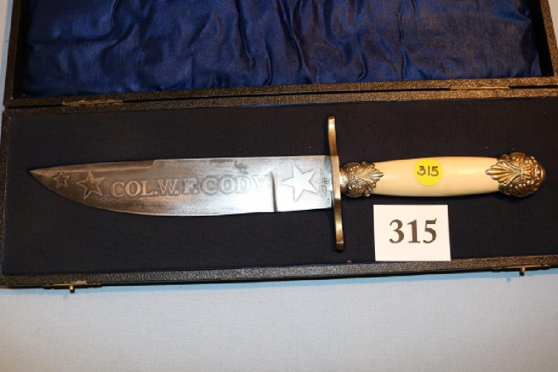 Col. W.F. Cody Bowie Knife
