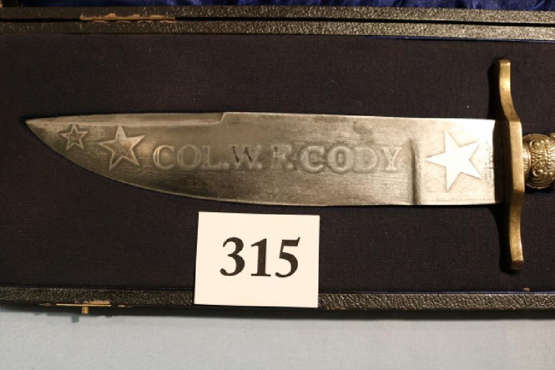 Col. W.F. Cody Bowie Knife - 2