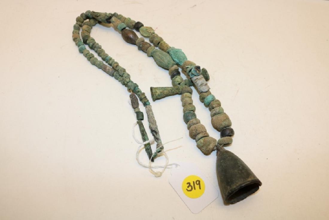 "32"" Strand of Ancient Roman Bronze Beads"