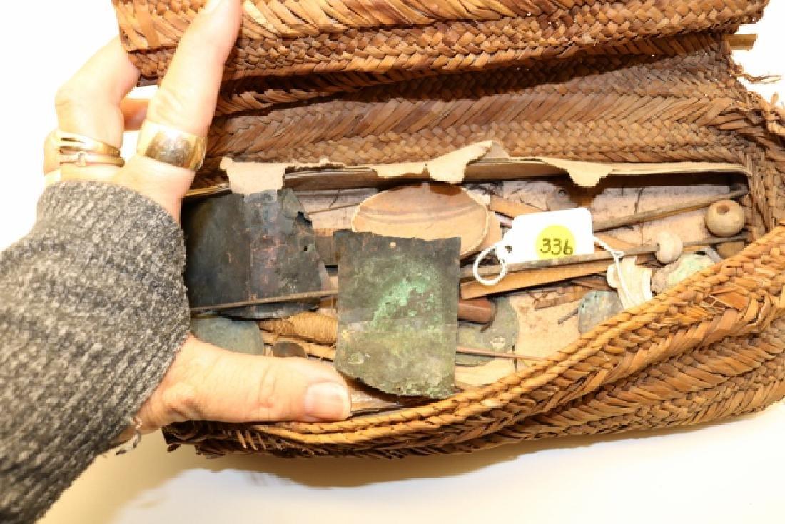 Primitive Wari Culture Sewing Kit - 2