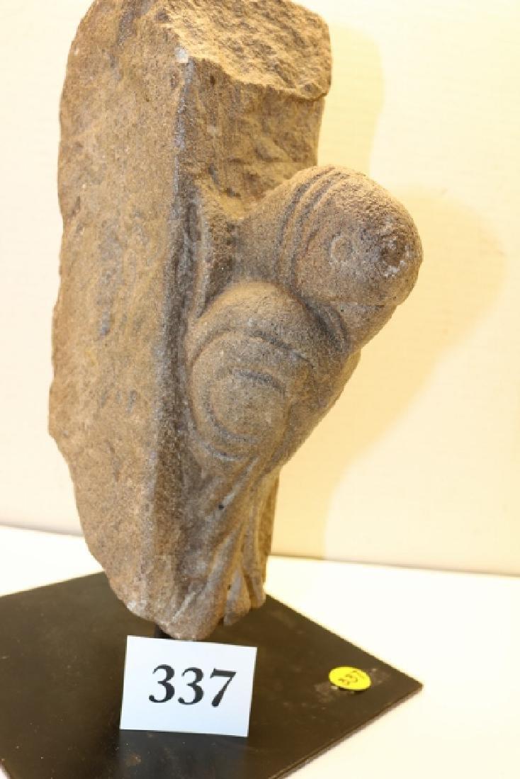 Parakeet Stone Carving - 2