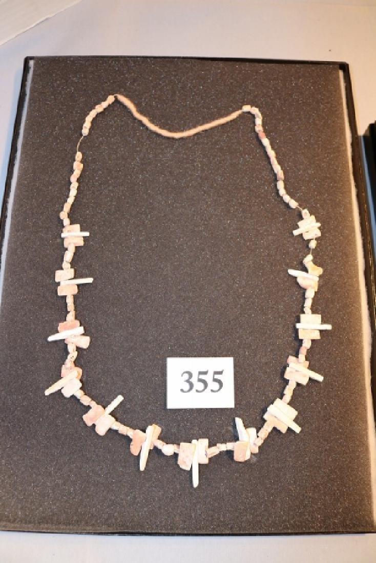 Strand of Pre Columbian Shell Beads