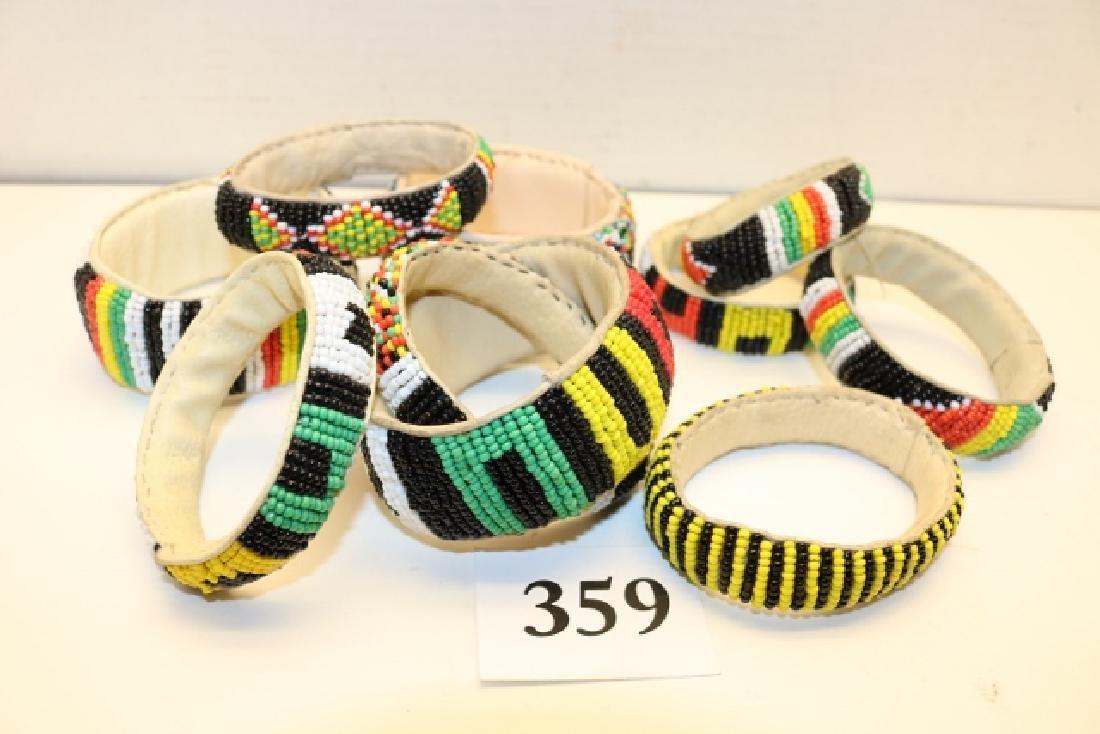 Group of (10) Beaded Bracelets